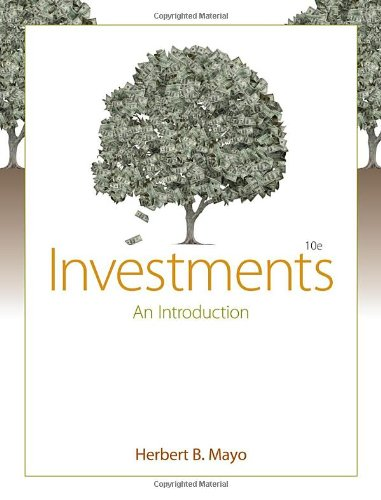 9780538452090: Investments: An Introduction (with Thomson ONE - Business School Edition and Stock-Trak Coupon)