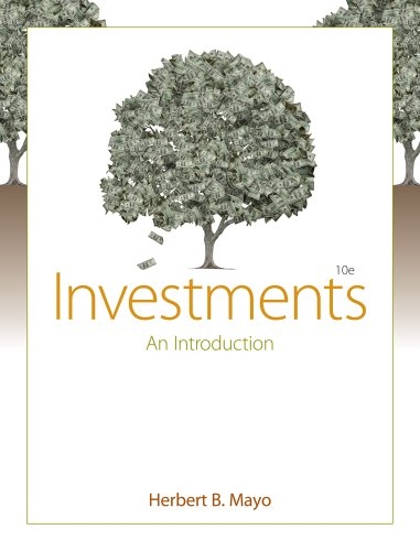 9780538452106: Investments: An Introduction (Book Only)