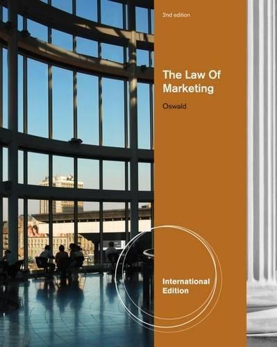 9780538452731: The Law of Marketing, International Edition