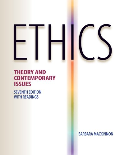 9780538452830: Ethics: Theory and Contemporary Issues
