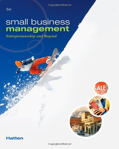 9780538453141: Small Business Management: Entrepreneurship and Beyond