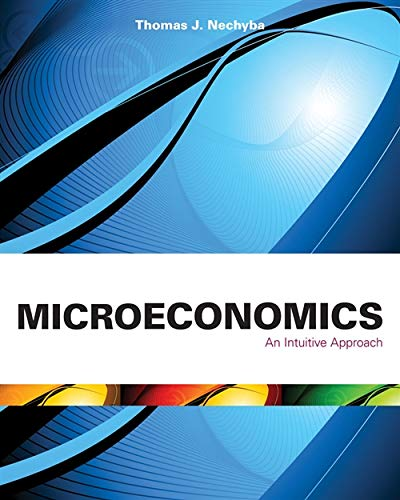 9780538453264: Microeconomics: An Intuitive Approach (with LiveGraphs Web Site Printed Access Card) (Upper Level Economics Titles)