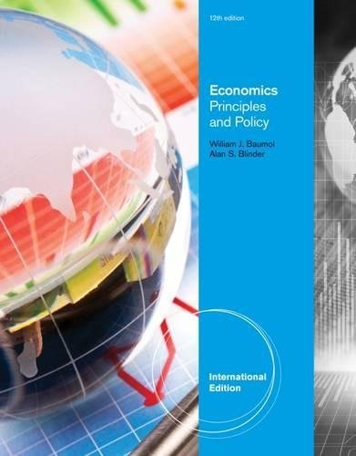 9780538453691: Economics: Principles and Policy, 12th Edition, International Edition