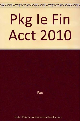 Financial Accounting ACCT (Instructor's Edition): Norman Godwin