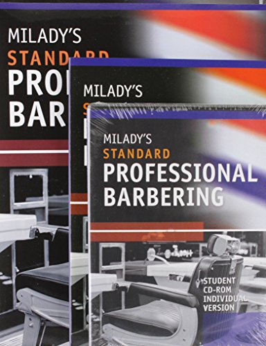 9780538457644: Bundle: Milady's Standard Professional Barbering, 5th + Student Workbook + Exam Review + Student CD