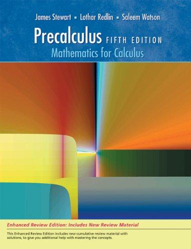 Bundle: Precalculus: Mathematics for Calculus, Enhanced Review: James Stewart and