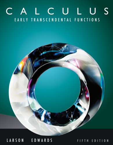 9780538463041: Bundle: Calculus: Early Transcendental Functions, 5th + WebAssign Printed Access Card for Larson/Edwards' Calculus: Early Transcendental Functions, 5th Edition, Multi-Term