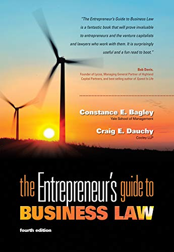 9780538466462: The Entrepreneur's Guide to Business Law, 4th Edition