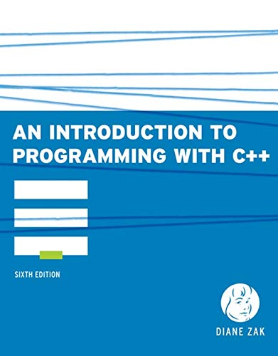 9780538466523: An Introduction to Programming With C++