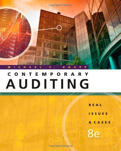 9780538466790: Contemporary Auditing: Real Issues and Cases