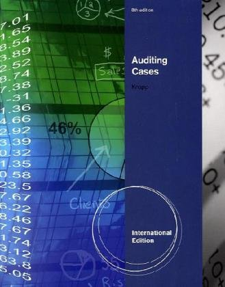 9780538466806: Auditing Cases