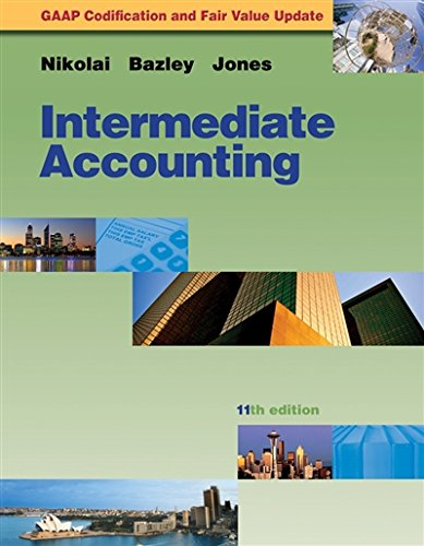 Intermediate Accounting Update: Loren A. Nikolai;
