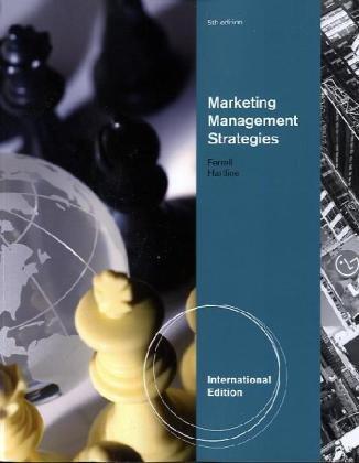 9780538467445: Marketing Management Strategies, International Edition