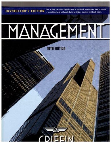 9780538467469: Management-instruc-edition