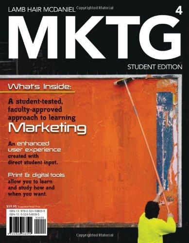 9780538468244: MKTG 4 2010