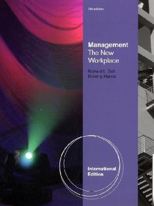 9780538469272: Management: The New Workplace