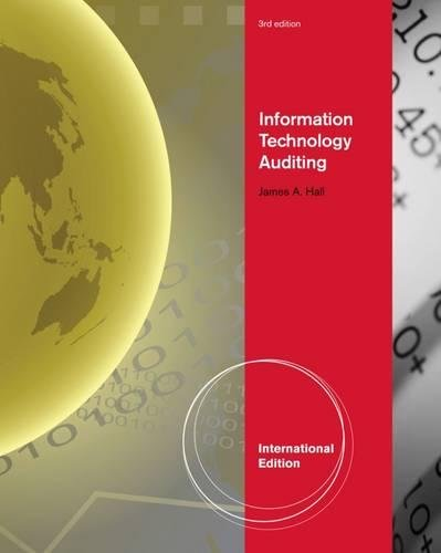 9780538469302: Information Technology Auditing, International Edition