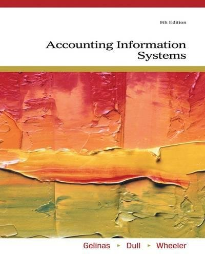 Accounting Information Systems: Ulric J. Gelinas,