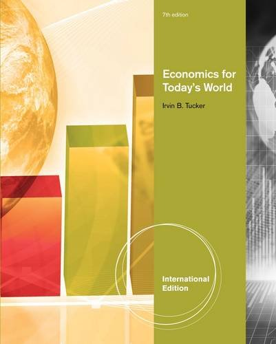 9780538469395: Economics for Today's World (International Edition)