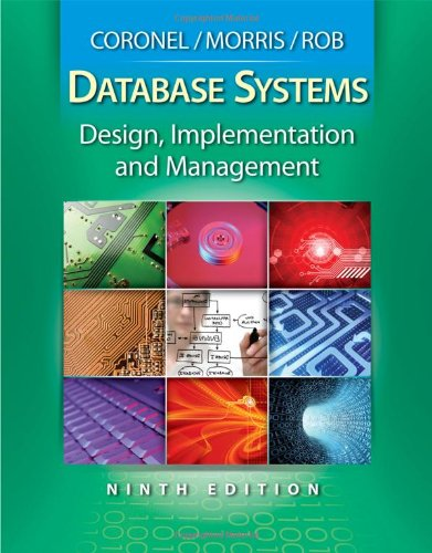 9780538469685: Database Systems: Design, Implementation, and Management (with Premium Web Site Printed Access Card) (Management Information Systems)