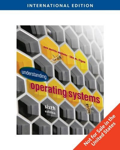 9780538470049: Understanding Operating Systems