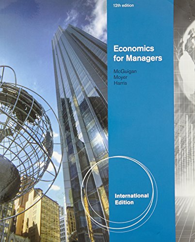 9780538470384: Economics for Managers, International Edition (with InfoApps)