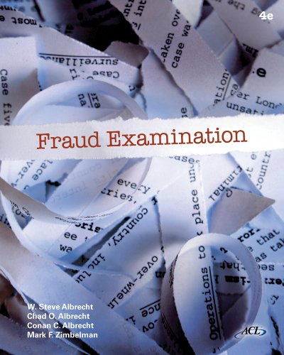 9780538470759: Fraud Examination (Book Only)