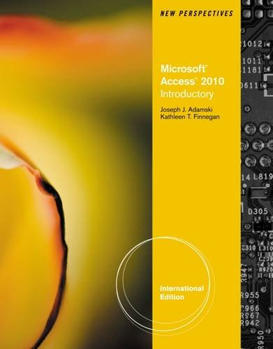 9780538470971: New Perspectives on Microsoft Office Access 2010