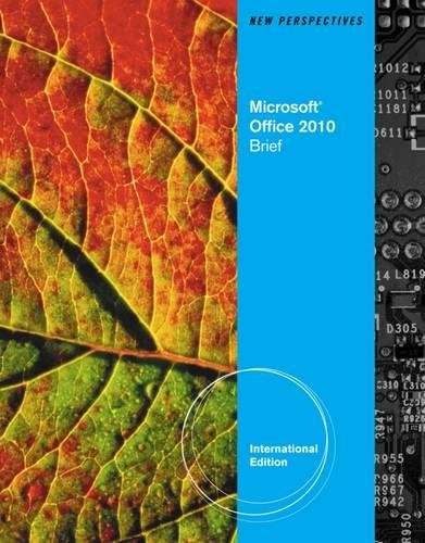 9780538470995: New Perspectives on Microsoft® Office 2010: Brief, International Edition