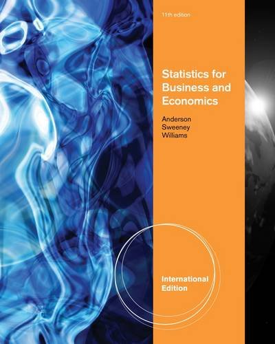 9780538471886: Statistics for Business and Economics, International Edition (with CD-ROM Printed Access Card)