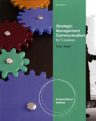 9780538473422: Strategic Management Communication, International Edition