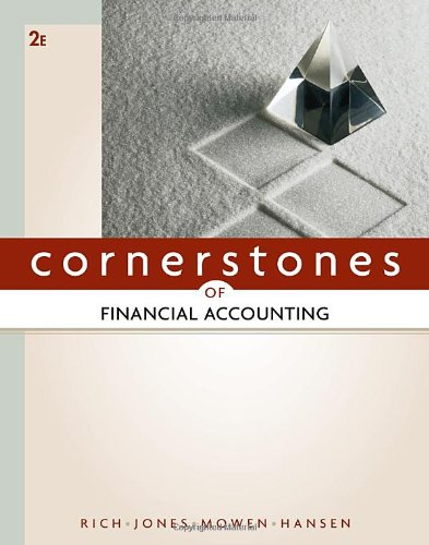9780538473453: Cornerstones of Financial Accounting