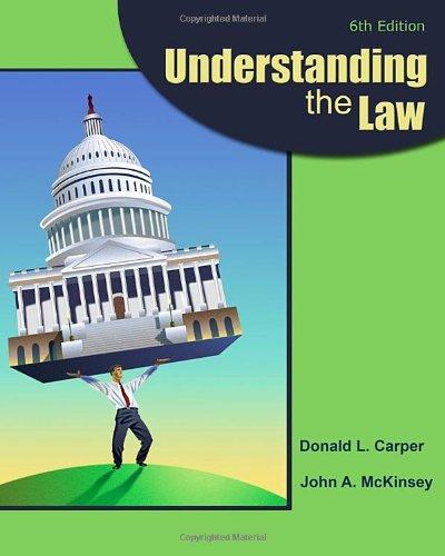 9780538473590: Understanding the Law