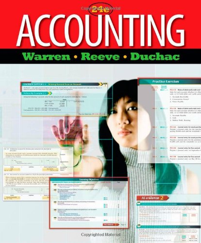 9780538475006: Accounting (Managerial Accounting)