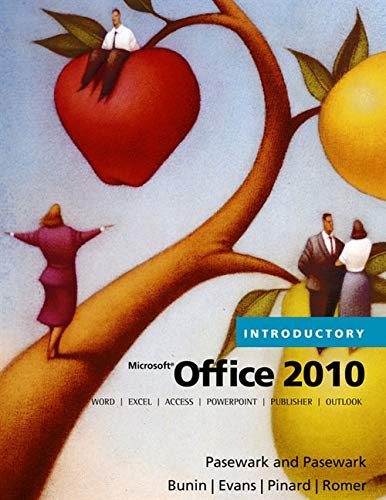 9780538475396: Microsoft Office 2010: Introductory (Microsoft Office 2010 Print Solutions)