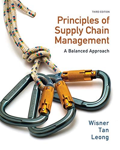 9780538475488: Principles of Supply Chain Management: A Balanced Approach (with Premium Web Site Printed Access Card)