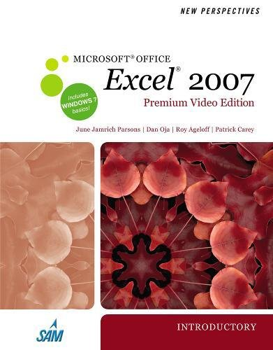 9780538475600: New Perspectives on Microsoft Office Excel 2007, Introductory, Premium Video Edition (Available Titles Skills Assessment Manager (SAM) - Office 2007)