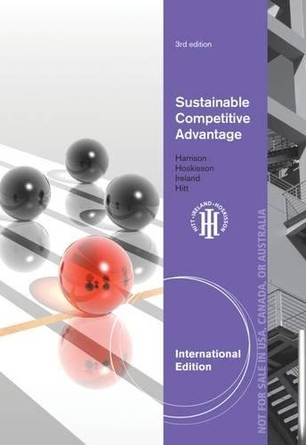 9780538475624: Sustainable Competitive Advantage