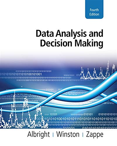 9780538476126: Data Analysis and Decision Making