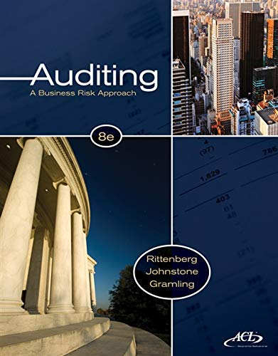 Auditing: Rittenberg, Larry E./