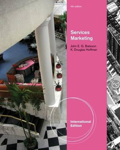 9780538476454: Services Marketing, International Edition