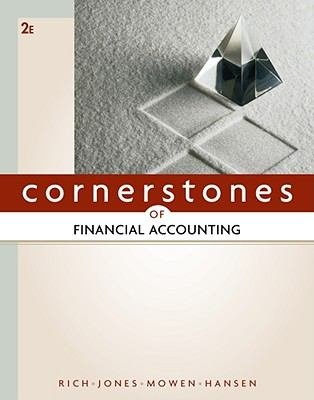 9780538476638: Cornerstones of Financial Accounting