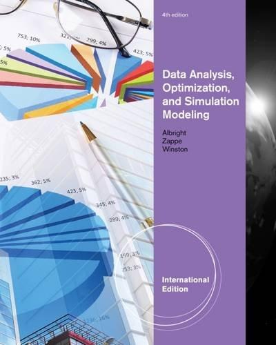 9780538476768: Data Analysis, Optimization, and Simulation Modeling