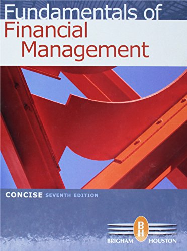 9780538477123: Fundamentals of Financial Management, Concise 7th Edition