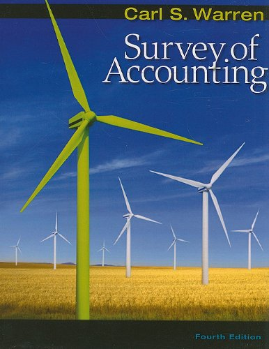 9780538478144: Survey of Accounting