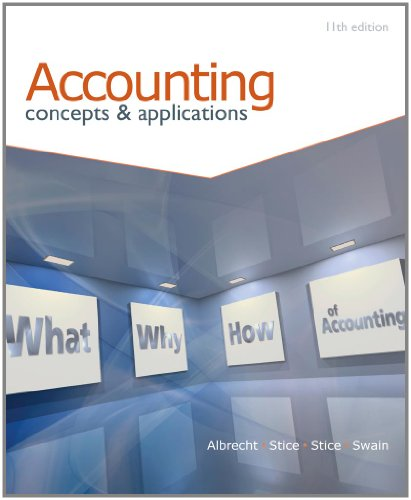 9780538478182: Accounting: Concepts and Applications (with Annual Report)