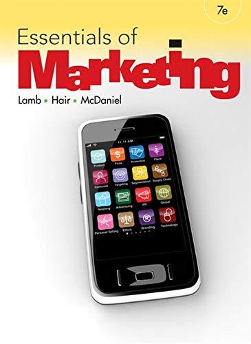 Essentials of Marketing: Lamb, Charles W.; Hair, Joe F.; McDaniel, Carl