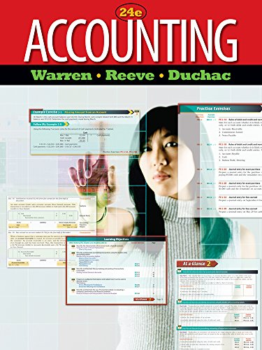 accounting by carl s warren james m reeve jonath Financial accounting (carl s warren) at booksamillioncom gain a solid foundation in financial accounting to ensure you are prepared for future business courses and.
