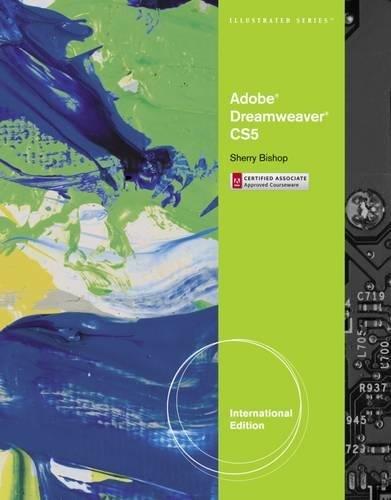 9780538478717: Adobe Dreamweaver CS5 Illustrated, International Edition (Illustrated Series)