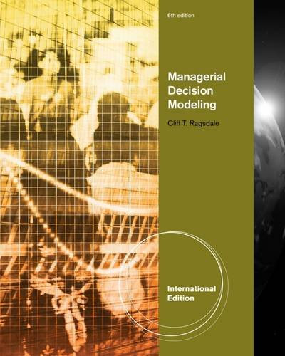 9780538478731: Managerial Decision Modeling